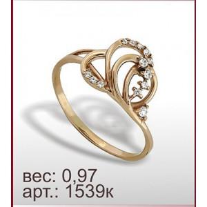Кольцо 1539к